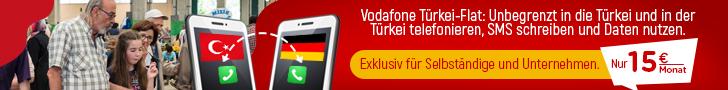 Vodafone Türkei Flat